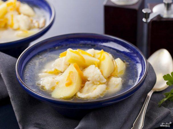 Суп с клёцками в мультиварке