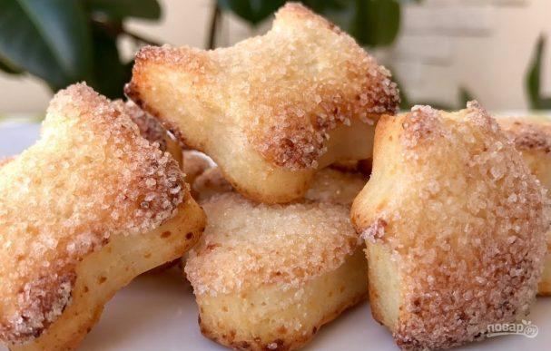 Вкуснейшее творожное печенье