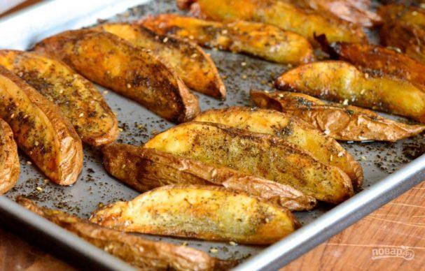 Запечь картофель в духовке