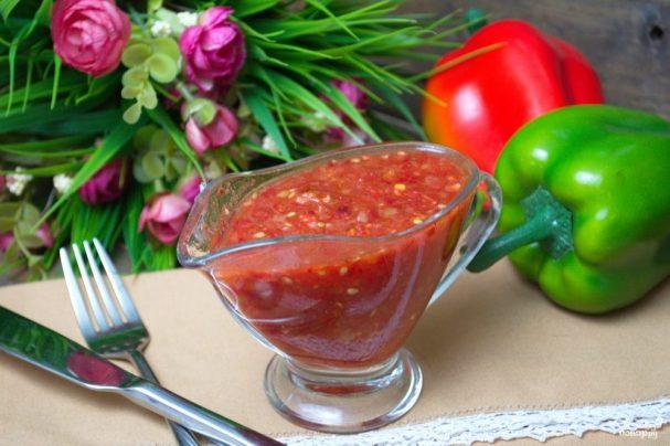 рецепт аджики из помидор на зиму без яблок