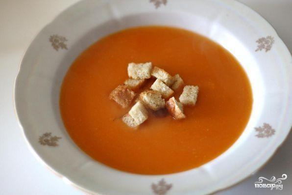 Суп-пюре французский