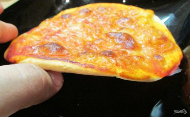 Настоящее тесто для пиццы