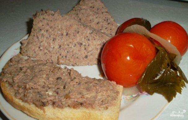 рецепт паштета из свиной головы и печени