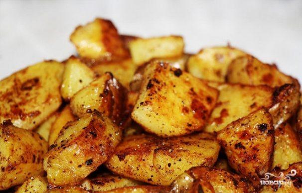 Картошка с хрустящей корочкой