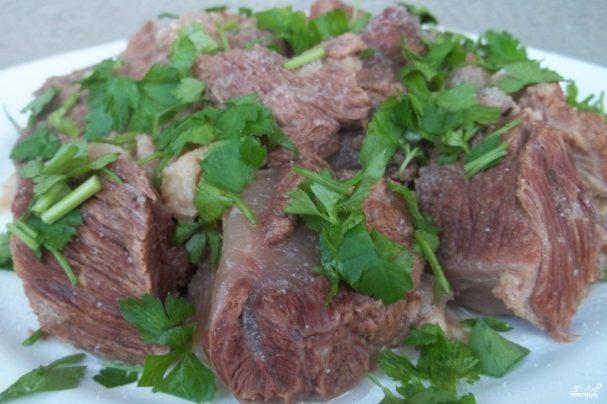 Хашлама из говядины