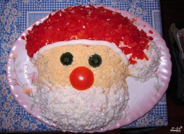 пирожные дед мороз рецепт