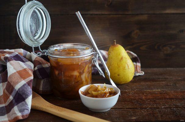 рецепт варенья груши с яблоками
