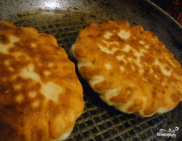 Пирожки на кислом молоке