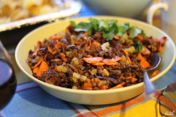 Фарш на сковороде - пошаговый рецепт с фото на