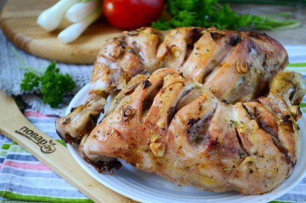 Курица тандури 1,2,3,4 этапы