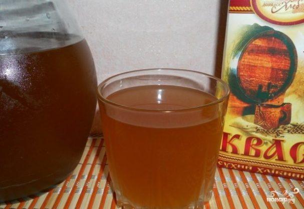 квас в домашних условиях рецепт из сухарей