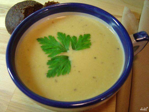 Картофельный суп с пореем