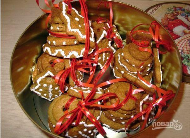 Рождественское печенье с корицей