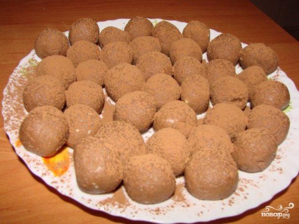 Трюфельные конфеты из малютки