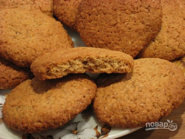 лучшее овсяное печенье, рецепты