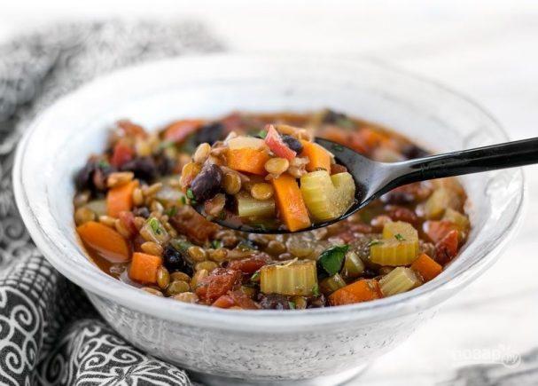 Сытный и питательный овощной суп