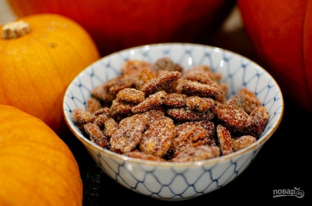 Пряные орехи (пекан)
