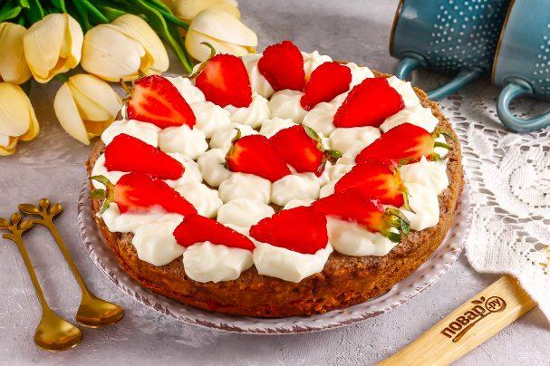 Торт из клубничного варенья