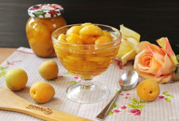 Варенье из недозрелых абрикосов