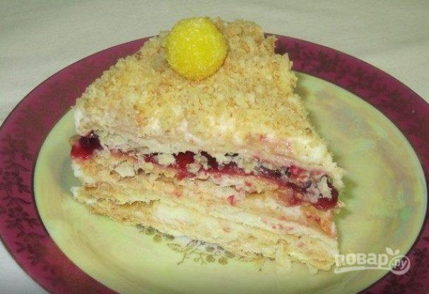 Малиновый торт от Палыча