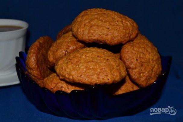 Медовое печенье простое