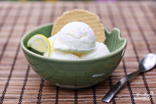 Йогуртовое мороженое