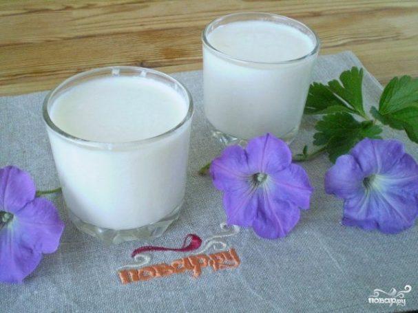 Домашний кефир из молока