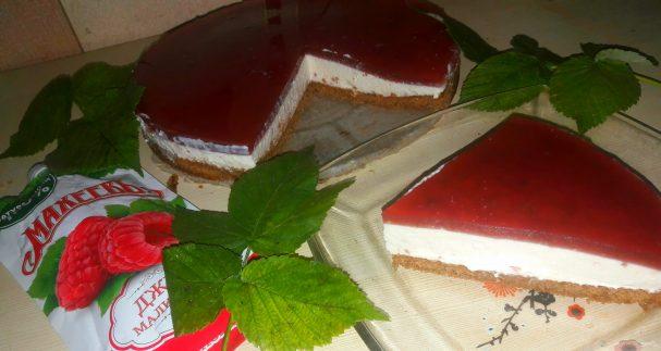 """Лучший рецепт сметанно-фруктового десерта с джемом """"Махеевъ"""""""