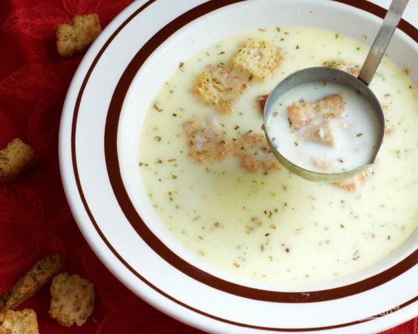 Суп из горбуши (консервы)