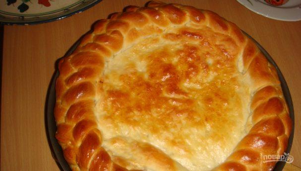 Тесто для пирогов с капустой