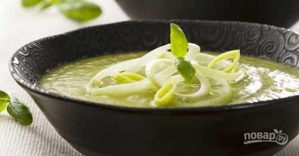 Крем-суп из кабачков или цукини