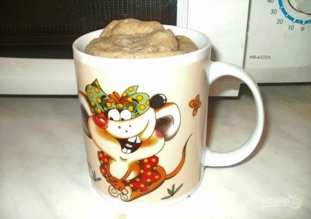 Молочный кекс в кружке