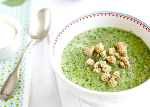 Крем-суп из шпината (оригинальный вкус)