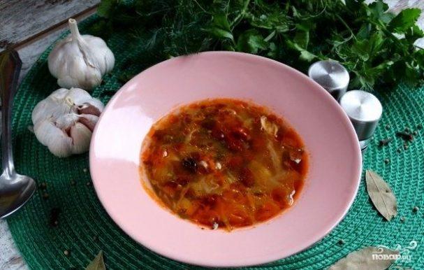 суп с фасолью рецепт от видеокулинария рф