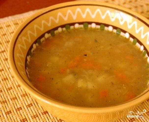 Суп из консервы скумбрии