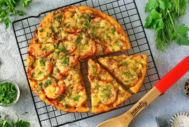 Пицца с тушенкой