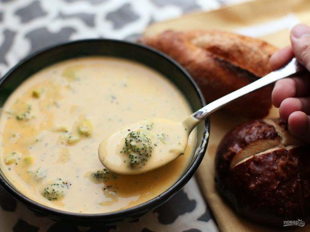 Диетический сырный суп с плавленым сыром