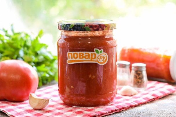 Легкий рецепт кетчупа из помидоров на зиму