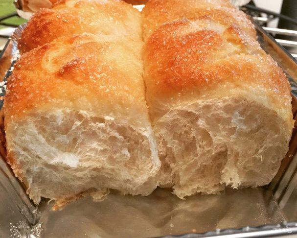 Рецепт пышных булочек с сахаром
