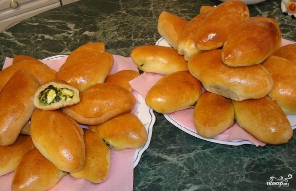 Дрожжевые пирожки на кефире