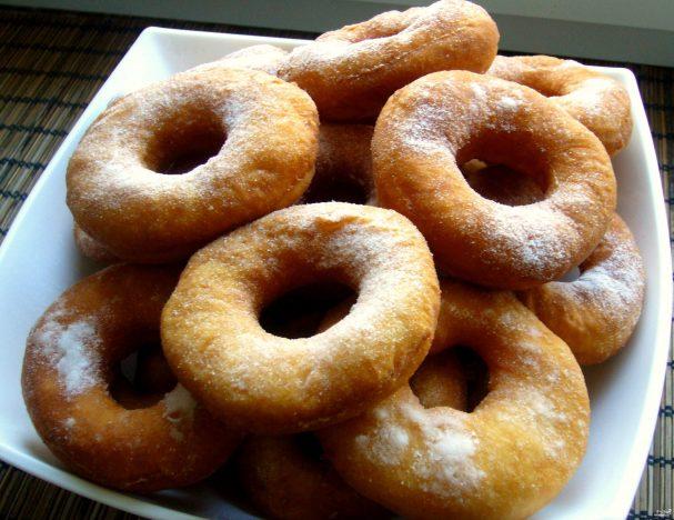 Пончики на кислом молоке