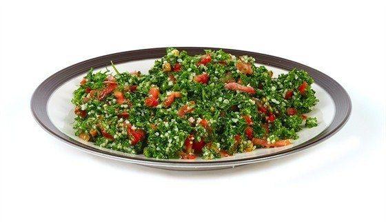 Салат из чечевицы с сельдереем