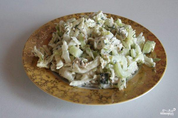 Салат из черешкового сельдерея