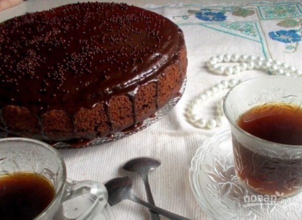 """Домашний торт """"Пьяная вишня"""""""