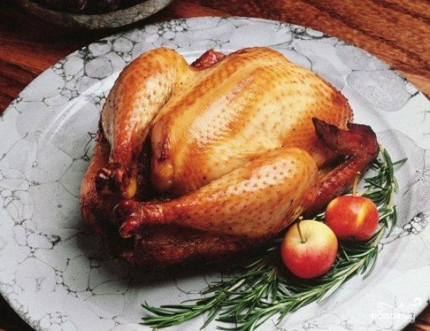 Курица гриль в микроволновке