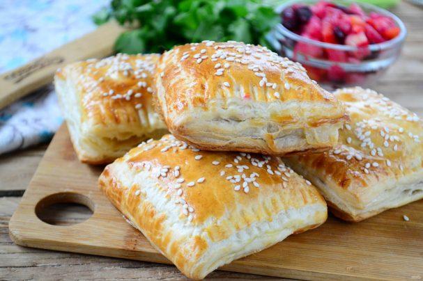 Пирожки с винегретом