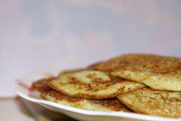 Блинчики из кабачков и картошки
