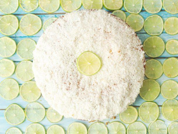 Кокосово-лаймовый кекс