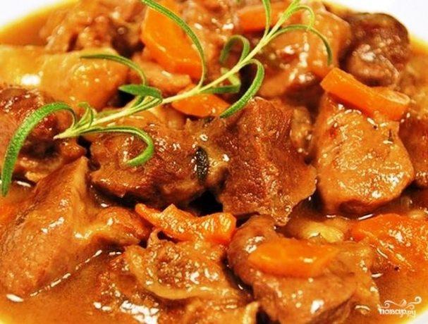 Вкусное мясо в мультиварке