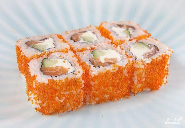 рецепты приготовления суши филадельфия